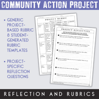 Community Action Projects Tool Kit {Google Classroom™ Digital Option}