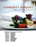 Community Banquet: A Mathematics Project