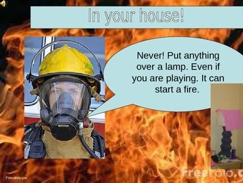 Community Based Instruction Fire Safety Powerpoint Lesson