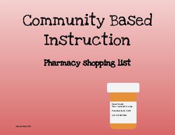 Community Based Instruction: At the pharmacy.