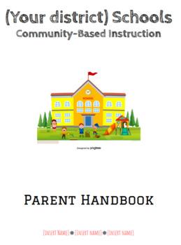 Community Based Instruction Curriculum- ENTIRE SCHOOL YEAR!