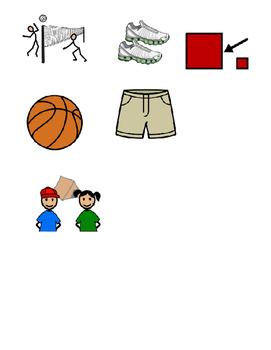 Community Based Instruction Scavenger Hunt - Dick's Sporting Goods