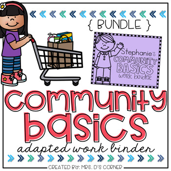 Community Basics Adapted Work Binder { BUNDLE }