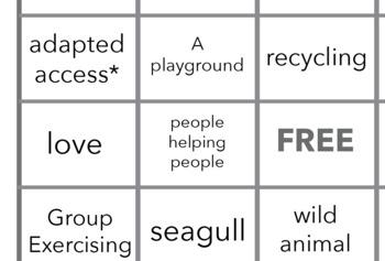 Community Bingo Sheet