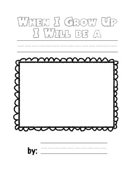 Community Books- When I Grow Up