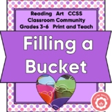Filling A Bucket: Building Community