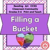Filling A Bucket: Building Community CCSS 3-6