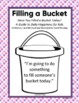 Filling A Bucket AND Building Classroom CommUNITY