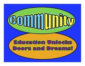 Community Builders - Affirmation PowerPoint Shows