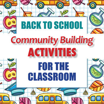 Community Building Activities For The Classroom