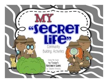 "Classroom Community Building Activities- My ""Secret Life"""