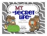 "Classroom Community Building Activities- My ""Secret Life"""