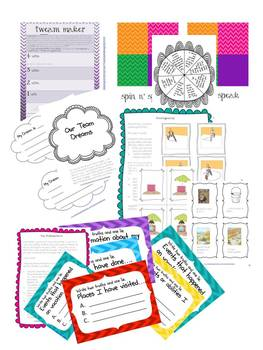 Community Building Activities Pack For Back to School and All Year