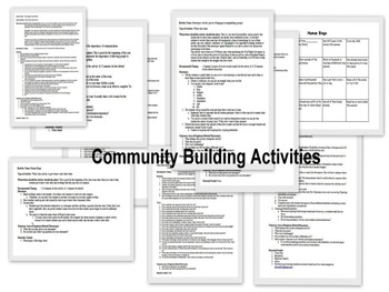 Community Building Activities to Bond with Classmates and Grow as Individuals