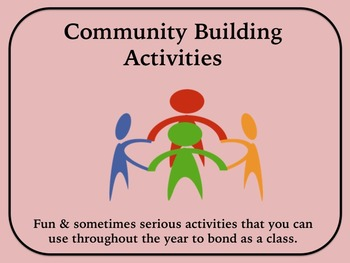 Community Building Activities to Bond with Classmates and