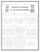 Community Building Activity Menu (Grades K-3)