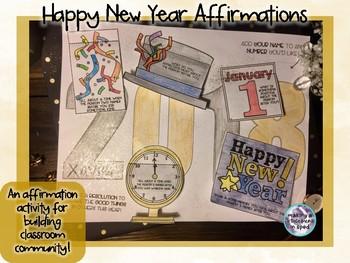 Community Building Affirmation Activity- January