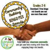 Community Building Bingo Brain Breaks Freebie