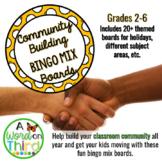 Community Building Bingo Brain Breaks For The Whole Year
