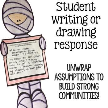 Community Building Classroom Guidance Lesson - Assumptions Activity