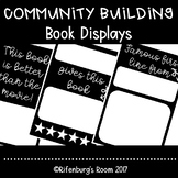 Community Building - Currently Reading - Book Displays