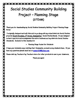 Community Building Project-Planning Stage