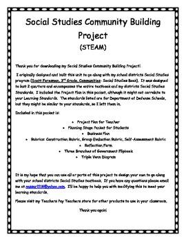 Community Building Project-Social Studies