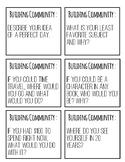 Community Building Question Cards