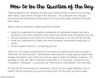 Community Building Question of the Day December Edition