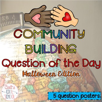 Community Building Question of the Day Halloween Edition {FREEBIE}