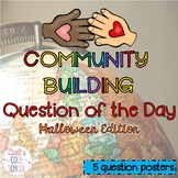 Community Building Morning Message Halloween Edition {FREEBIE}