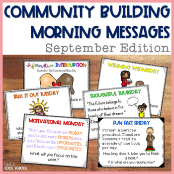 Community Building Question of the Day September Edition