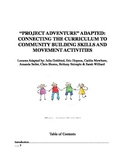 Community Building Skills with Physical Movement Activitie