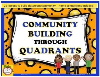 Community Building Through Quadrants - 26 activities