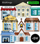 Buildings and Places Clip Art