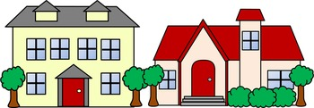 Community Buildings Clip Art Set - 26 images for personal ...