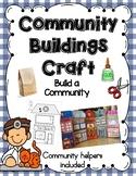 Community Helper Buildings Craft- Build a Community