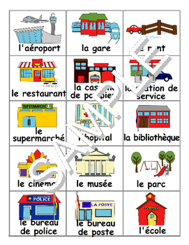 Community Buildings FRENCH MEGA Pack (games,workbooks,SmartNotebook)