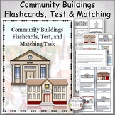 Community Buildings Flashcards, Test and Matching
