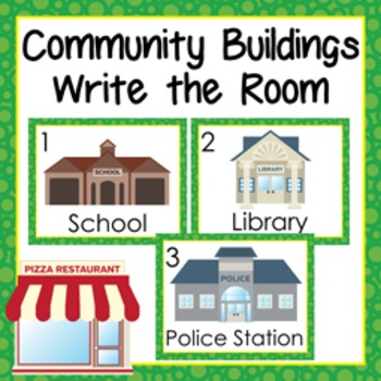 Community Buildings Write the Room