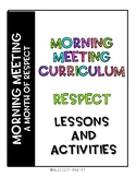 Morning Meeting Plans: A Month of Respect