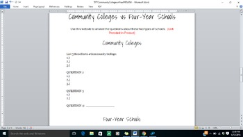 Community Colleges vs. Four-Year Schools