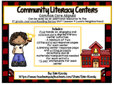 Community Helpers Common Core Literacy Centers- Lucia's Ne