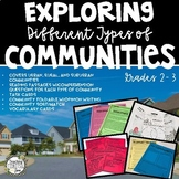 Community, Communities, Urban, Suburban, Rural Communities, Types of Communities