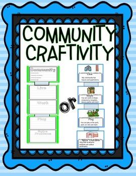 Community Craftivity