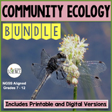 Community Ecology Bundle | Printable and Digital Distance Learning