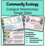 Community Ecology (Ecological Relationships) Google Slides