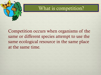 Community Ecology Test Prep PowerPoint