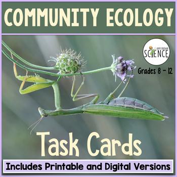 Community Ecology Task Cards