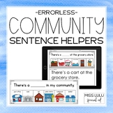 Community Errorless Writing Sentence Helpers